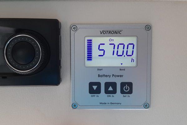 Batterie Monitor im Westfalia Columbus 540d