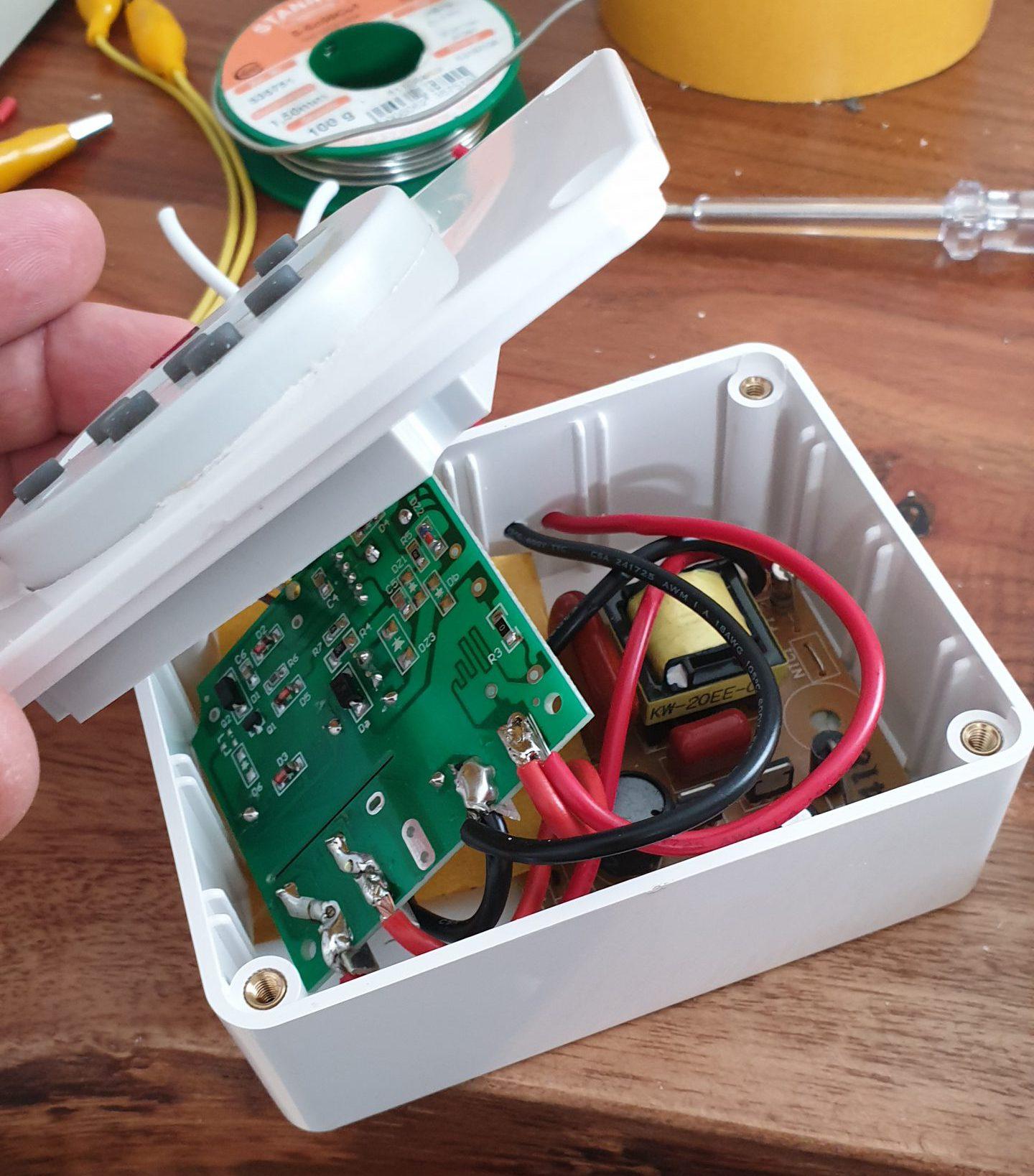 Schaltung DIY 12V UV-C Sterilisator
