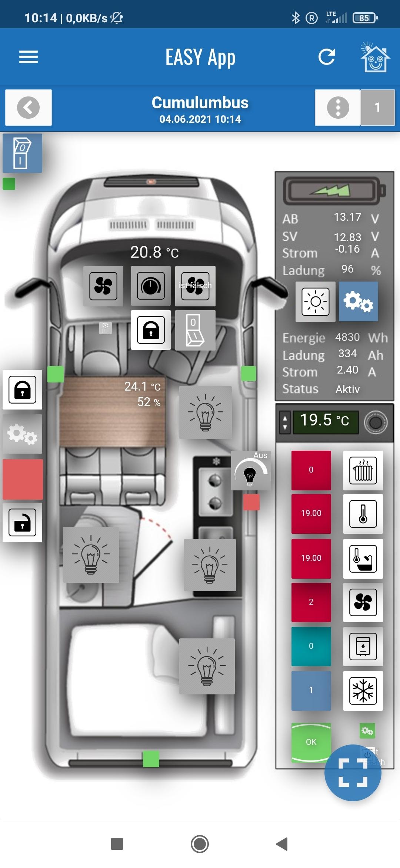 Smart Camper –Zentralverriegelung und Thitronik Alarmanlage